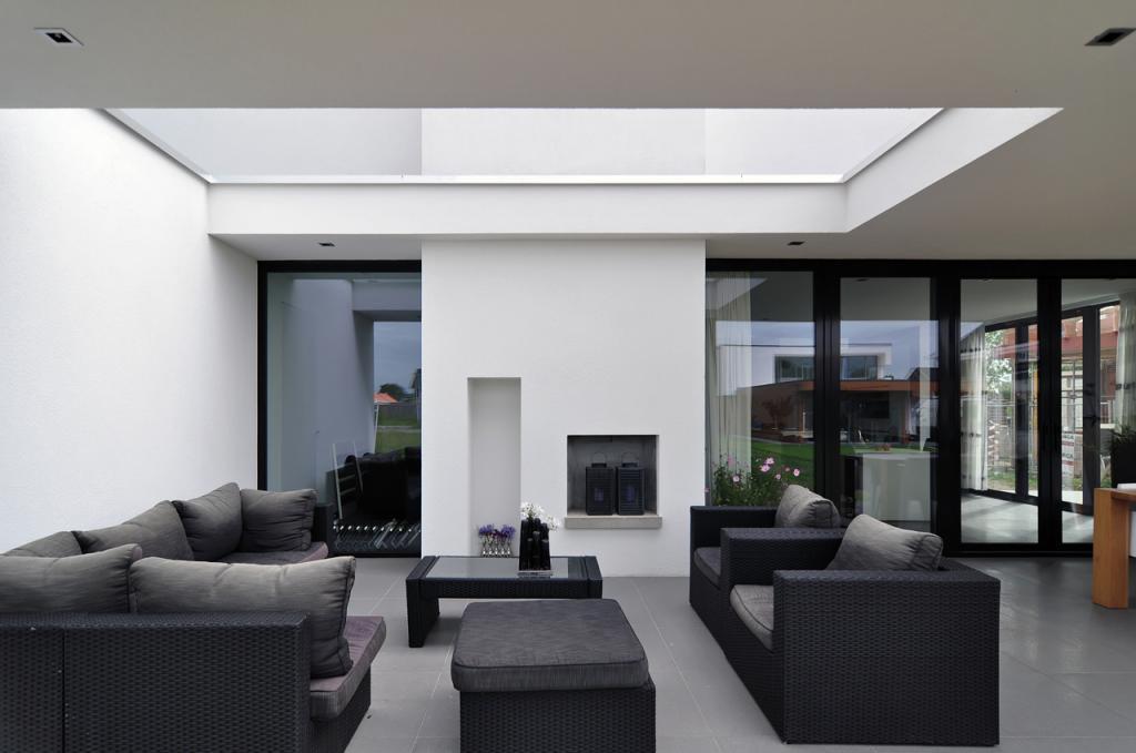 Woning modern lichtenvoorde bouwbedrijf hubers - Modern stijl huis ...